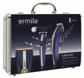 Ermila Duo pack, Motion/T-Nano koffert. Blå